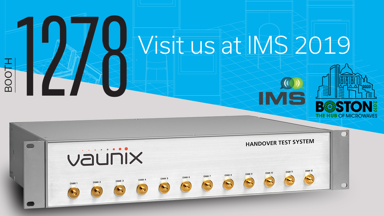 New Portable Lab Bricks and Custom Test Systems Featured by Vaunix at IMS