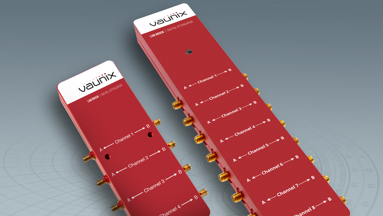 Portable Multi-port Attenuators Offer 120 dB of control range and 0.1 dB step size up to 8 GHz